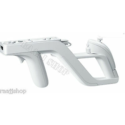 NEW HIGH QUALITY ZAPPER GUN FOR WII & WII U REMOTE CONTROLLER AND NUNCHUCK UK
