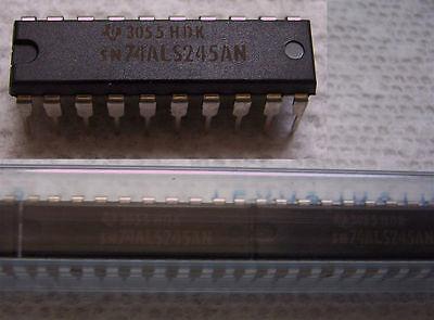 TEXAS INSTRUMENTS SN74ALS245AN  74ALS245 80 PCS