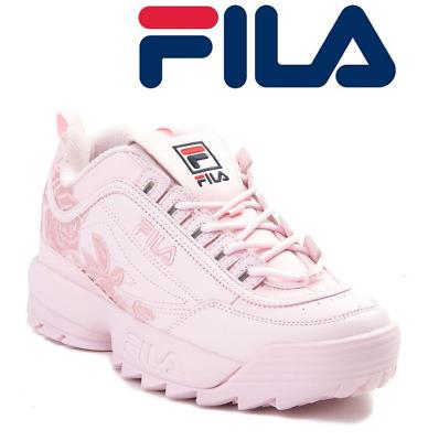womens fila disruptor 2 rose athletic shoe