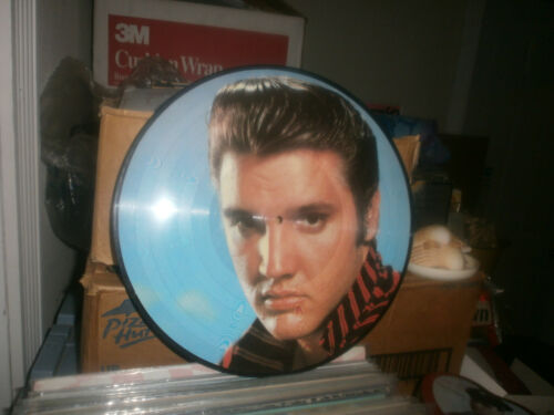 ELVIS PRESLEY SUPER NICE PICTURE DISC RECORD 12 INCH VINTAGE
