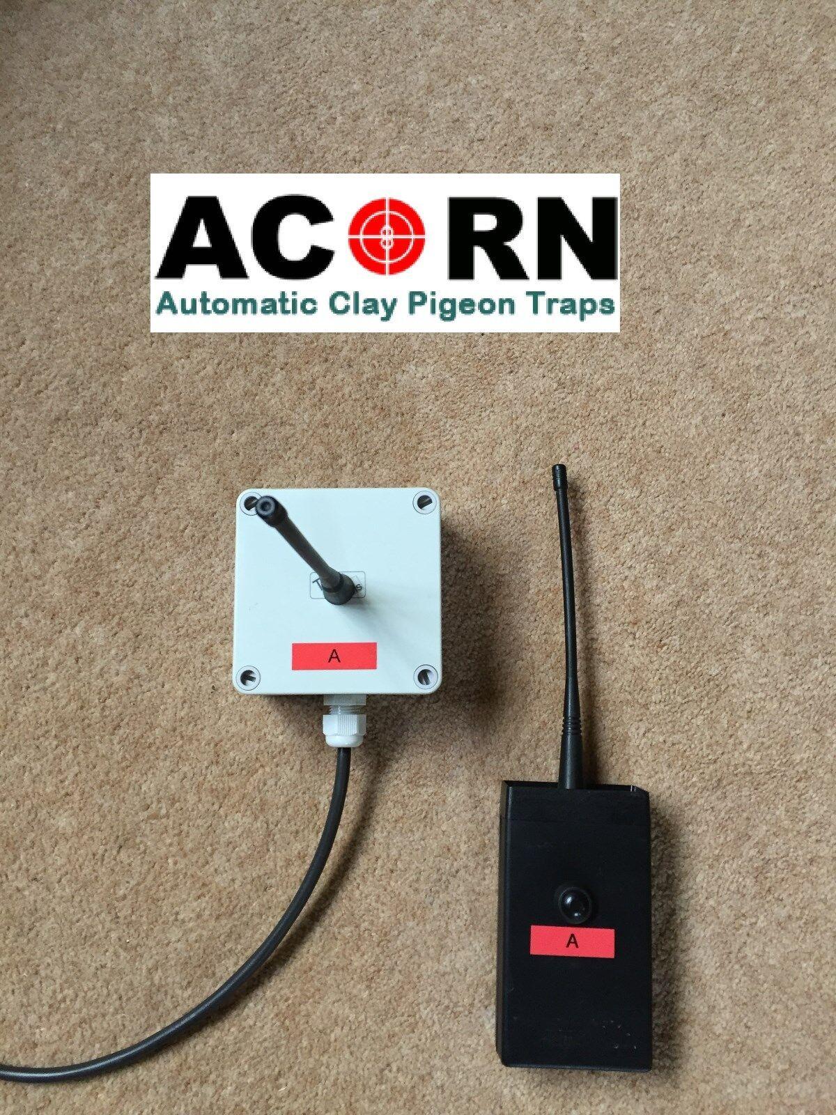 Acorn Clay Pigeon trampa de radio inalámbrica solo