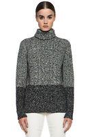 Vince Color Twist Turtleneck Sweater Size:l $335