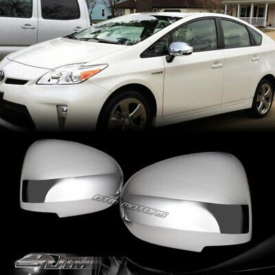 Chrome Door Mirror Cover For 2009-2015 Toyota Venza *no turn signal*