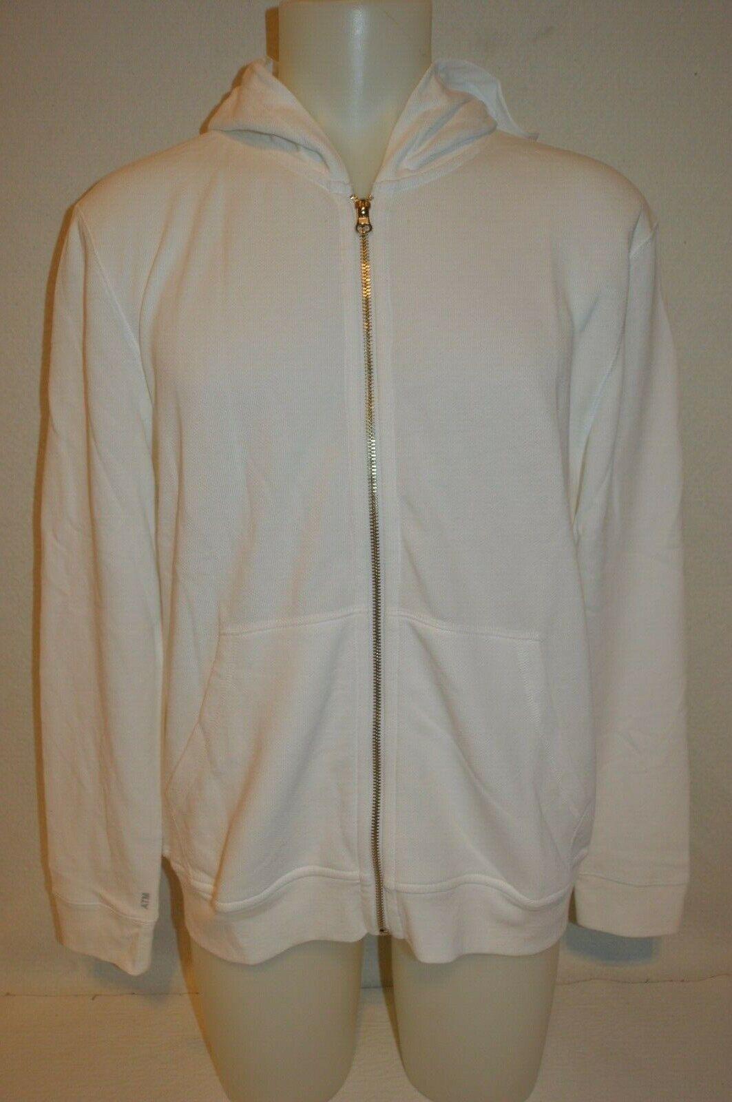ATM Man's Full Zip Up Premium Sweatshirt Jacket NEW Size Large Retail