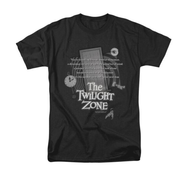 cc58c25bb04 The Twilight Zone Monologue Mens Short Sleeve Shirt Black Xxx-large ...