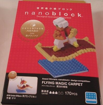 Kawada nanoblock FLYING MAGIC CARPET japan building toy block  NEW NBC/_250