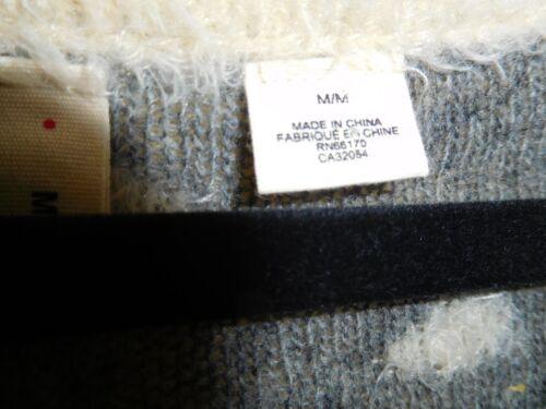 Maglione grigi Acquistato taglia Indossato M bianco Off Antropologia falena e Once presso punti qqRWBawr