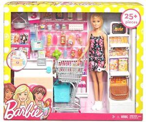 Barbie BIONDA Supermercato Set Nuovo 3+ FRP01 | eBay