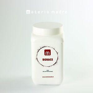 BORACE PURA SODIO BORATO BORO Borax IN BARATTOLO 1 KG MateriaMadre