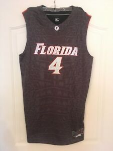 best authentic 545fa 0ef7b Details about Florida Gators Team Issued Basketball Jersey Mens Gatorskin