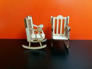 Mdf Rocking Chair For Christmas In Memory Craft 8cm No