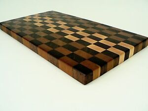 Image Is Loading Handcrafted Walnut Cherry Maple Purpleheart Hardwood End Grain