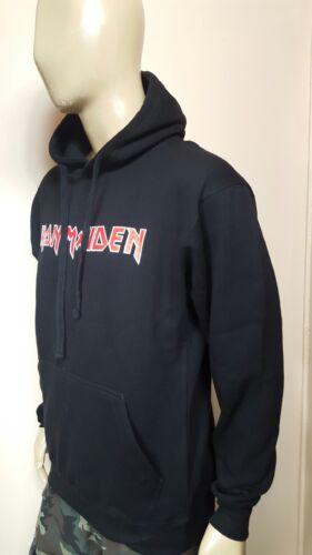 Iron Maiden Black Hoodie Classic Rock Logo  Nirvana  Free Shipping