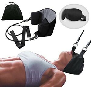 Head-Hammock-for-Neck-amp-Headaches-Pain-Relief-Cervical-Traction-Stretcher-w-Gift