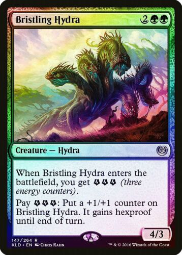 Bristling Hydra FOIL Kaladesh PLD Green Rare MAGIC GATHERING CARD ABUGames
