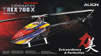 Align Trex 700 X Dominator 700 Sized Electric Helicopter Airframe
