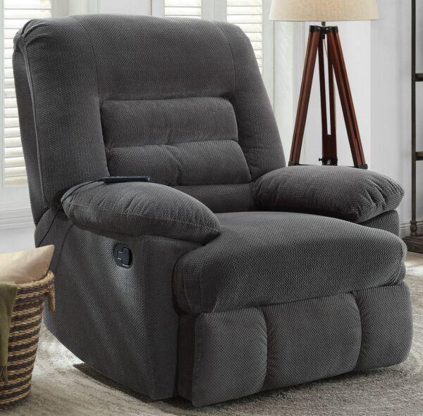 Recliner Back Massage Chair Serta Big And Tall Memory Foam