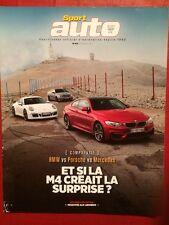 SPORT AUTO 09/2014 Bmw Porsche Mercedes AMG Nissan Ktm Aston Martin Vanquish