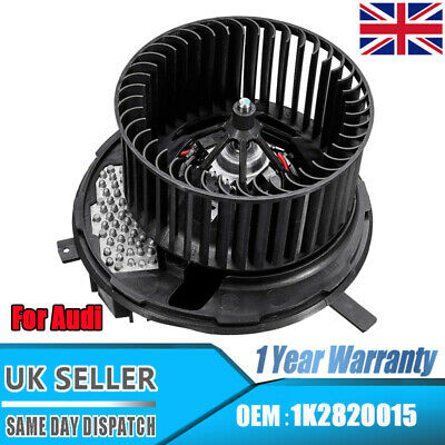 12V Heater Blower Motor Fan For Audi A3 8P Q3 TT Skoda Octavia Superb 1K2820015