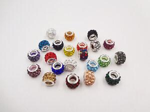 10pc-Quality-Crystal-Rhinestone-Beads-Disco-Ball-Shamballa-DIY-Bracelet-10mm
