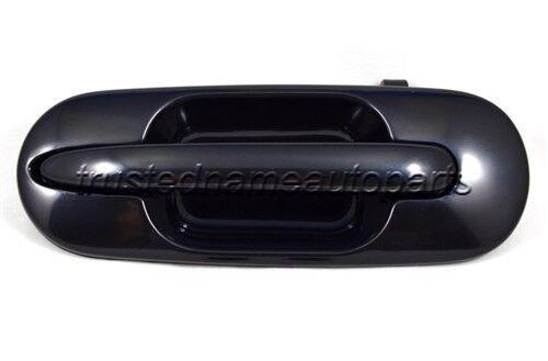fits Honda CRV Outside Exterior Door Handle Rear Left Driver Side Black Smooth