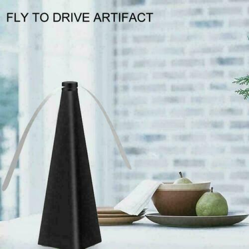 Automatic Fly Trap Fly Repellent Fan Keep Flies+Bugs Food Away From V6Y7