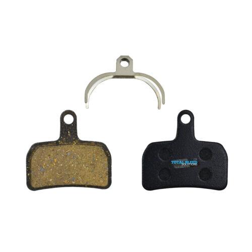 Pro Semi Metallic Sintered Ceramic Disc Brake Pads by TBS Hope Mono Mini