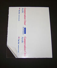 """11""""x14"""" UV Conservation Acrylic 1/8"""" Plexiglass Picture Frame Glass Replacement"""