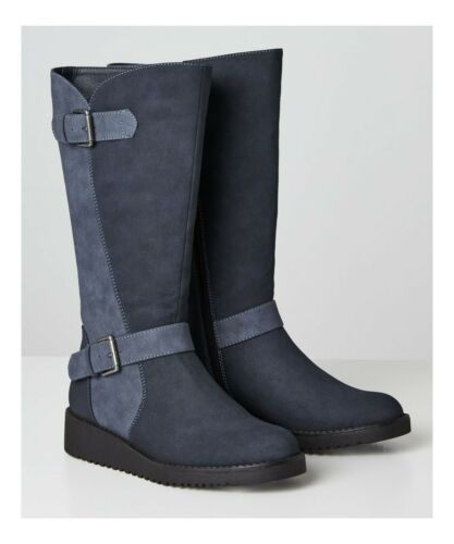 KB055A Joe Browns Happiness Buckle Wedge Boot
