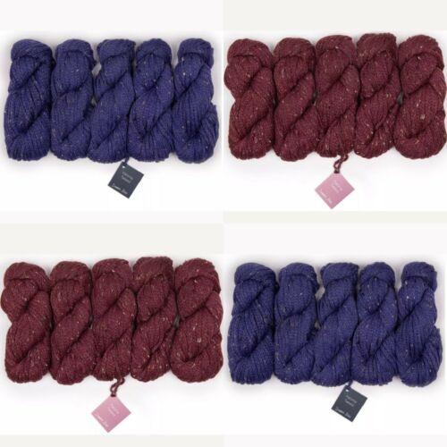 30/% Wool Debbie Bliss Paloma Tweed 6/% Viscose 14/% Acrylic 50/% Alpaca 50g