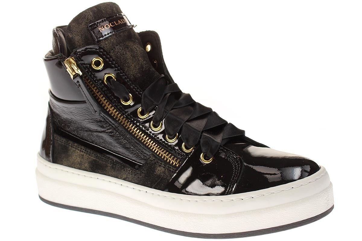 No claim eva4-señora zapatos zapatillas con cordones-oro