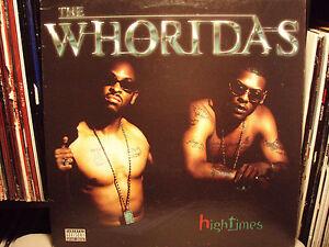 THE-WHORIDAS-HIGH-TIMES-VINYL-LP-1999-RARE-SAAFIR-XZIBIT