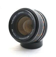 Tomioka Revuenon 55mm f/1.4 M42 mount lens