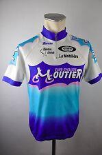 Santini Moutier Bike Radtrikot cycling jersey maglia Rad Trikot Gr. XL 54cm Z25