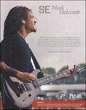 Periphery Mark Holcomb Signature PRS SE Guitar ad 8 x 11 advertisement print