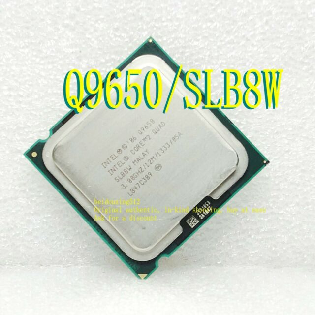 Intel Core 2 Quad Q9650 3.00GHz 12MB Quad-Core LGA775 SLB8W CPU Processor