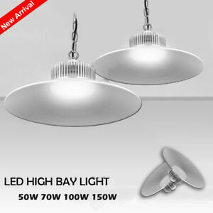 LED High Low Bay Light 150W 100W 70W 50W Commercial Warehouse Factory Lighting