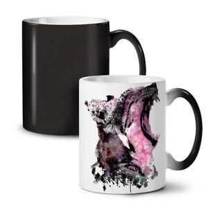 Leopard Beast Wild NEW Colour Changing Tea Coffee Mug 11 oz | Wellcoda