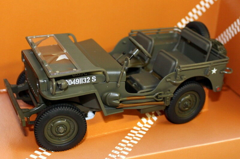 UT Models 1 18 Scale - 180 149001  Military Jeep U.S.A Army Diecast model voiture  meilleur choix