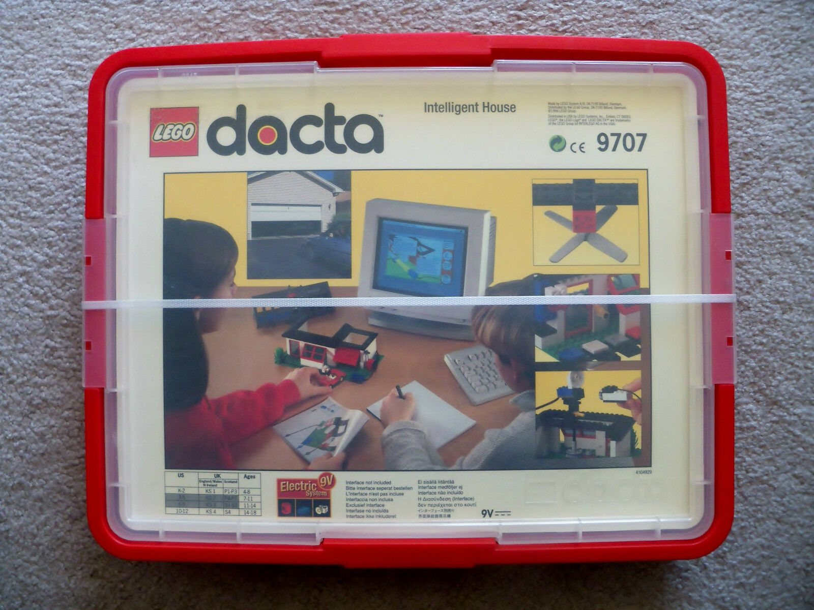 LEGO Educational & Dacta - Rare 9707 Intelligent House Building Set Control Lab