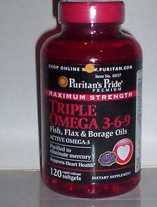 Triple omega 3 6 9 maximum strength