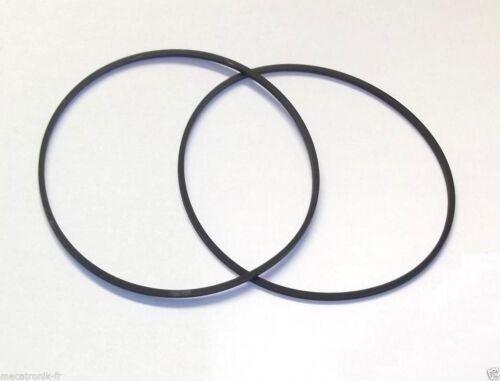 Kit de 2 courroie pour lecteur K7 mini chaine Sony CFDZ110 CFDZ120 CFDZ130 MF311