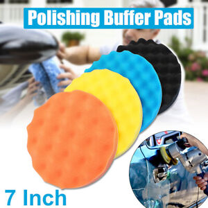 4Pcs-7-039-039-180mm-Buffing-Sponge-Polishing-Pad-Kit-Set-For-Car-Polisher-Buffer