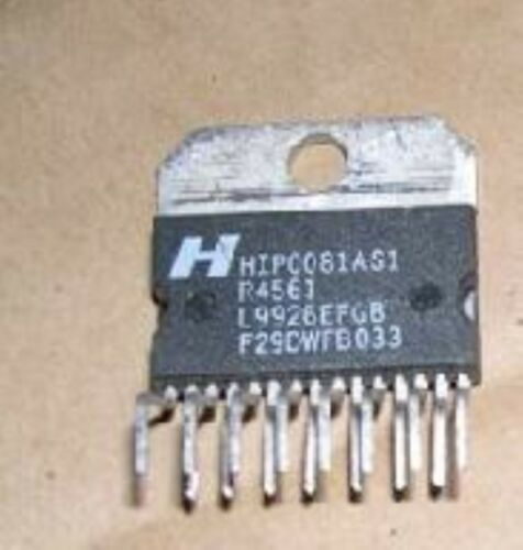 HARRIS HIP0081AS1 ZIP-15 Quad Inverting Power Drivers with