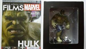 Hulk Figurine 1/16 En Resine Metallique Boite Hs N°1 Livret Neuf
