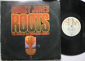Soul-Lp-Quiny-Jones-Roots-The-Saga-Of-An-American-Family-On-A-amp-M