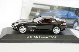 Ixo-Presse-1-43-Mercedes-SLR-McLaren-2004-Noire