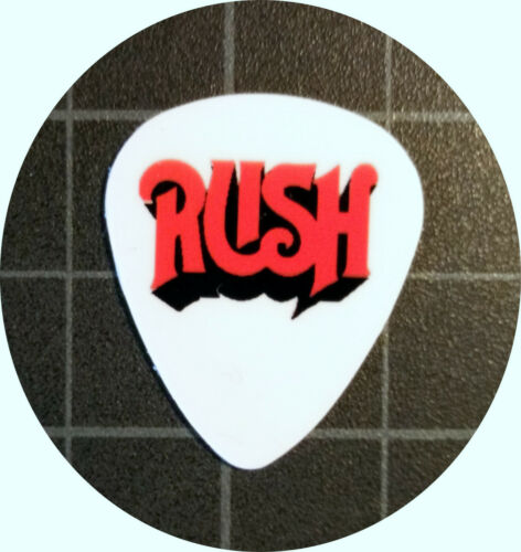 RUSH GUITAR PICKS SET OF 4