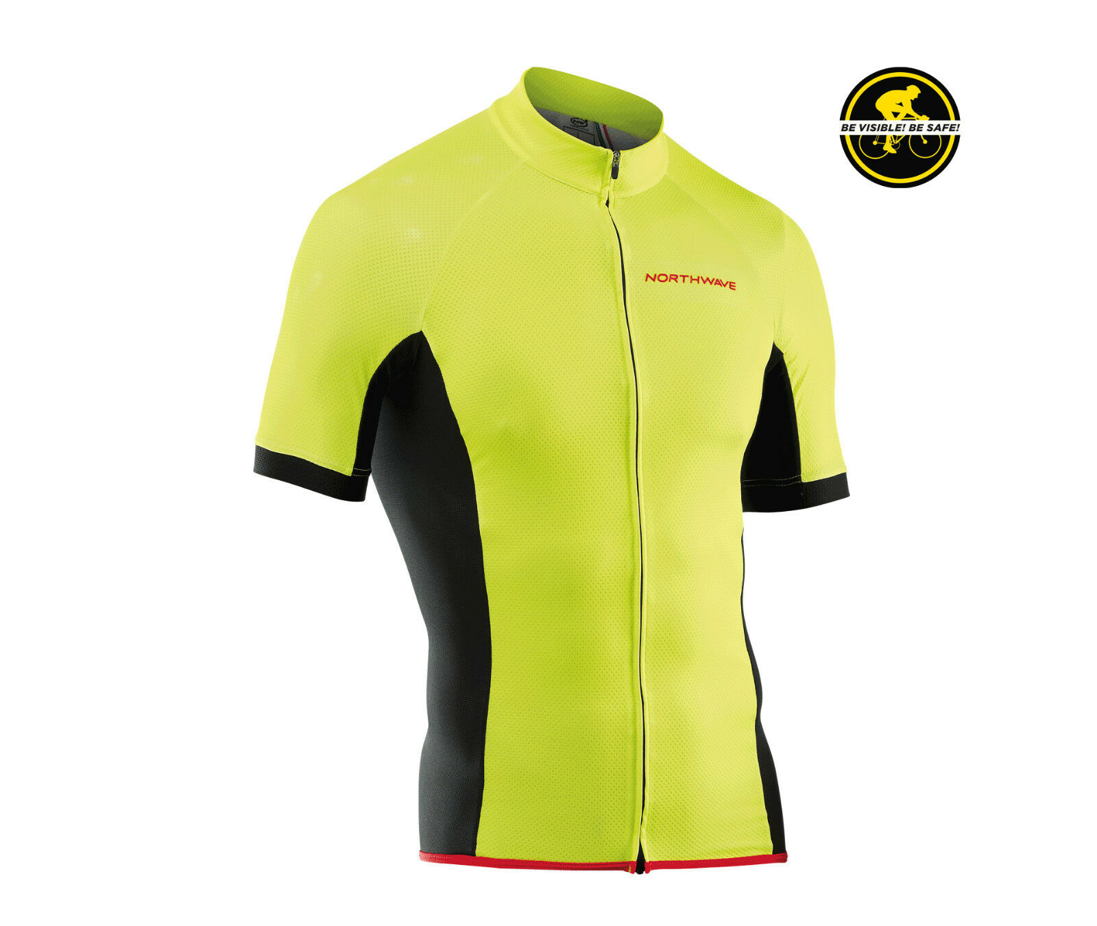 Maglia Manica Corta NORTHWAVE FORCE yellow Fluo JERSEY NORTHWAVE FORCE YELLOW