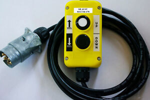T1-W-AHT-Remote-Control-c-w-lead-amp-Plug-suit-Tieman-AHT-taillift-tailgate-lift